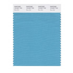 Pantone 16-4421 TCX Swatch Card Blue Mist