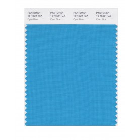 Pantone 16-4529 TCX Swatch Card Cyan Blue