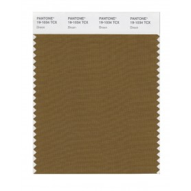 Pantone 19-1034 TCX Swatch Card Breen