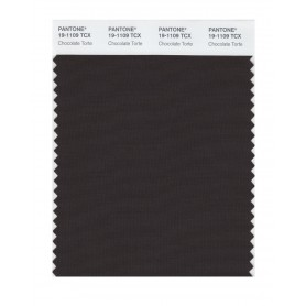 Pantone 19-1109 TCX Swatch Card Chocolate Torte
