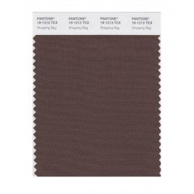 Pantone 19-1213 TCX Swatch Card Shopping Bag