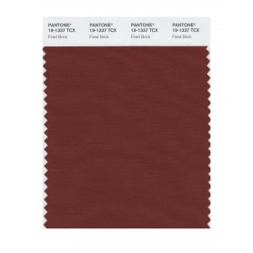 Pantone 19-1337 TCX Swatch Card Fired Brick