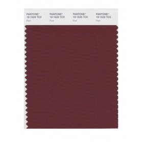 Pantone 19-1525 TCX Swatch Card Port