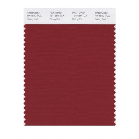 Pantone 19-1650TCX Swatch Card Biking Red