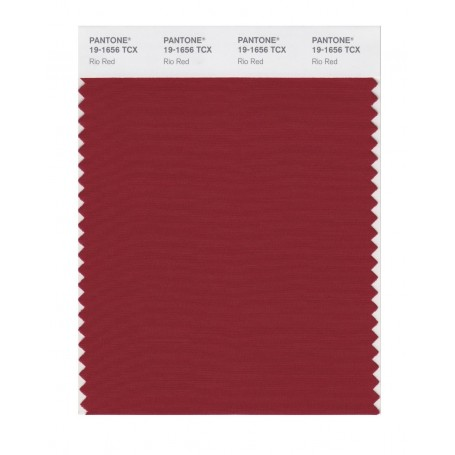 Pantone 19-1656TCX Swatch Card Loganberry
