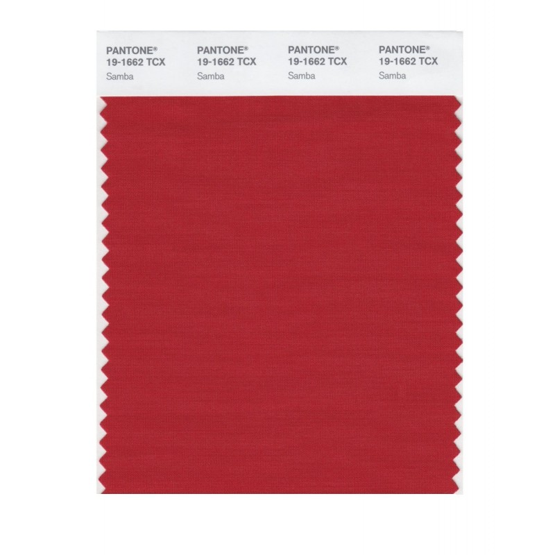 Pantone 19-1662 TCX Swatch Card Loganberry