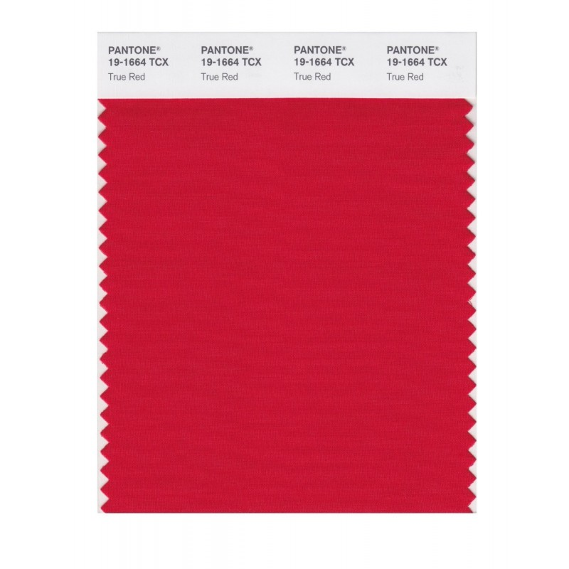Pantone 19-1664 TCX Swatch Card True Red Buy in india