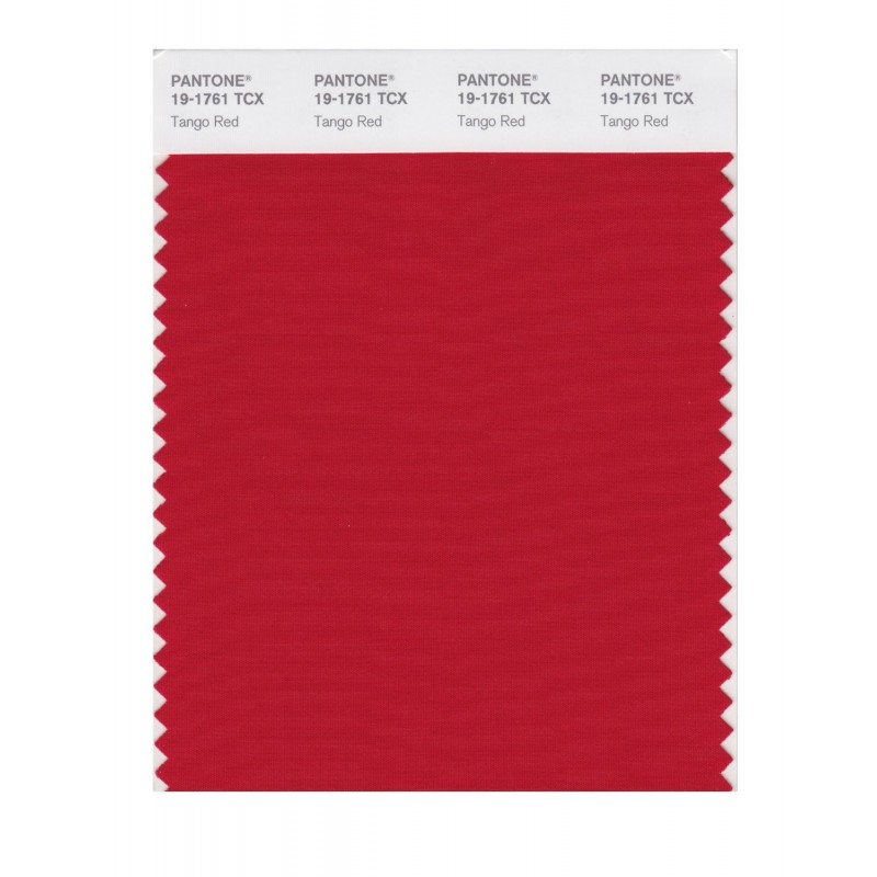 Pantone 19-1761 TCX Swatch Card Loganberry