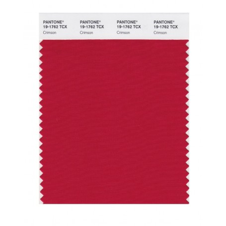 Pantone 19-1762 TCX Swatch Card Loganberry