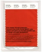 Pantone 19-1763 TCX Swatch Card Formula one