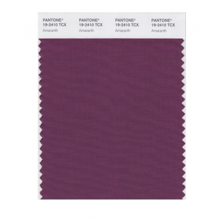 Pantone 19-2410 TCX Swatch Card Amaranth