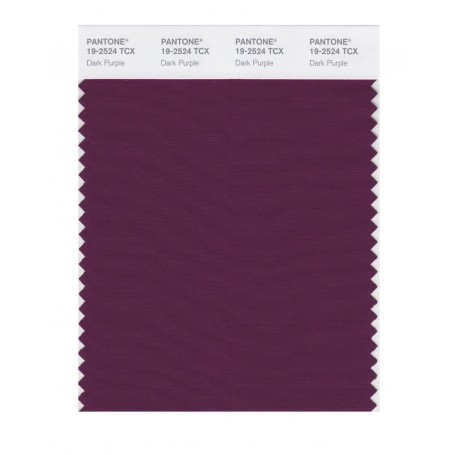 Pantone 19-2524 TCX Swatch Card Loganberry