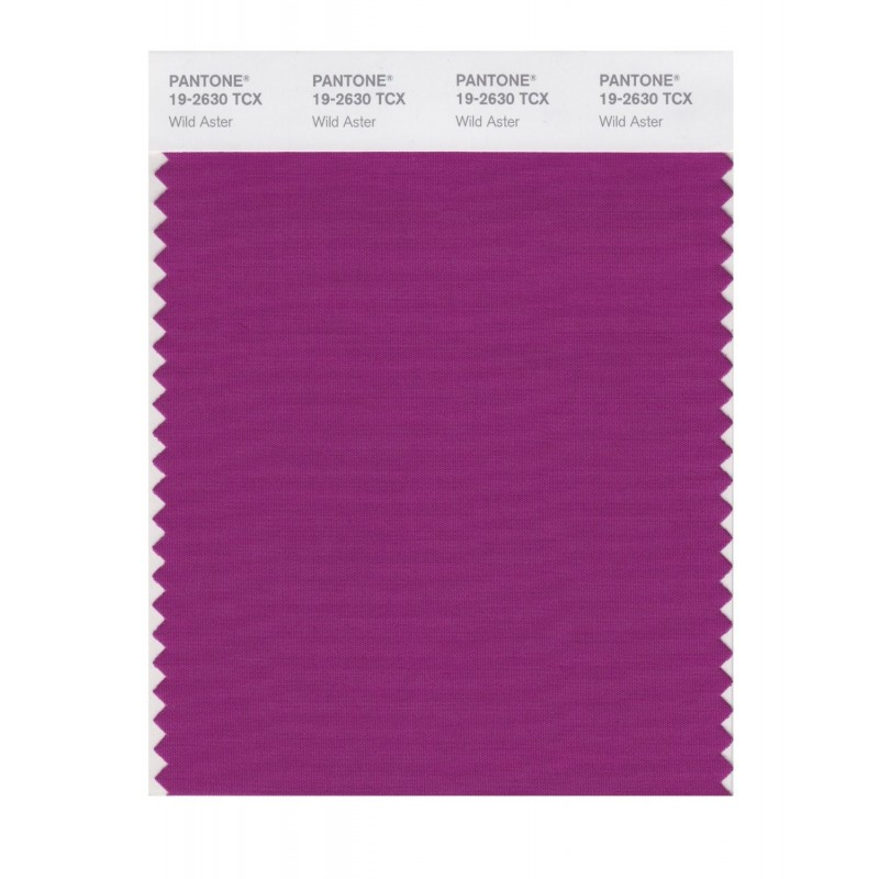 Pantone 19-2630 TCX Swatch Card Loganberry