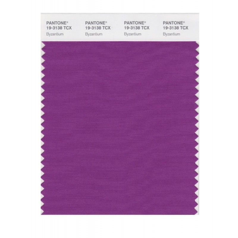 Pantone 19-3138TCX Swatch Card Loganberry