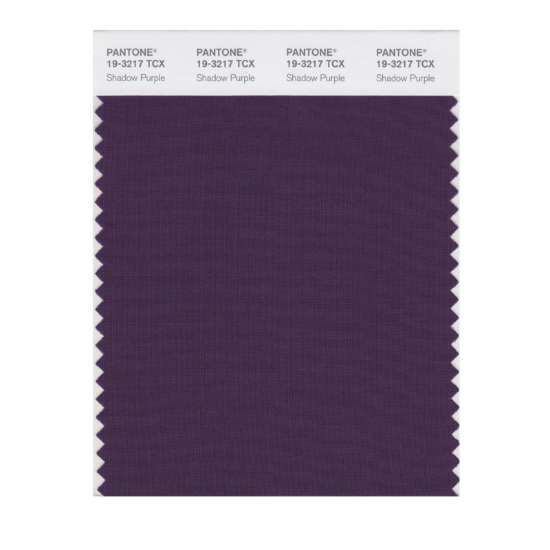 Pantone 19-3217 TCX Swatch Card Loganberry