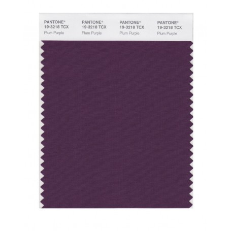 Pantone 19-3218TCX Swatch Card Loganberry