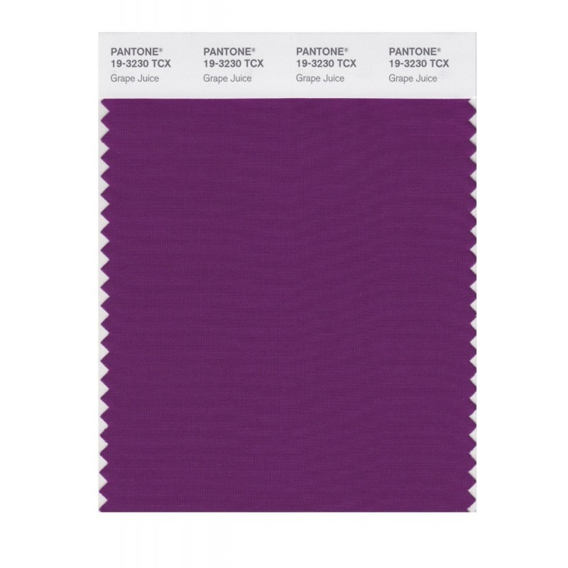 Pantone 19-3230 TCX Swatch Card Loganberry