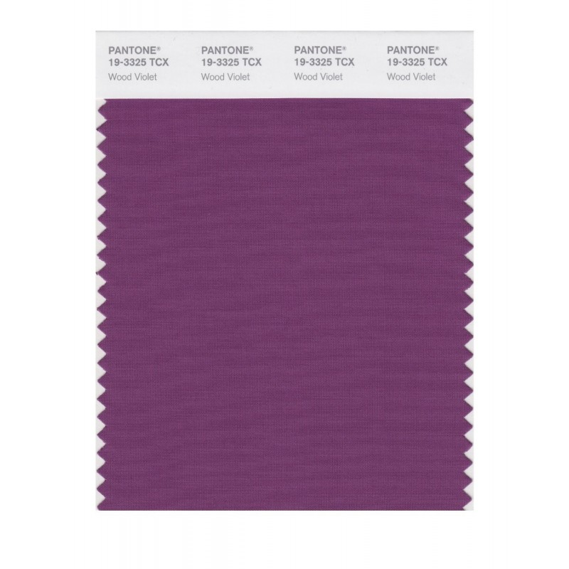 Pantone 19-3325TCX Swatch Card Loganberry
