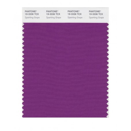 Pantone 19-3336 TCX Swatch Card Loganberry