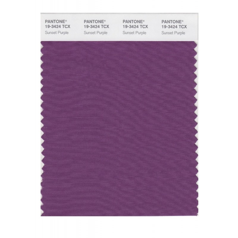 Pantone 19-3424 TCX Swatch Card Loganberry