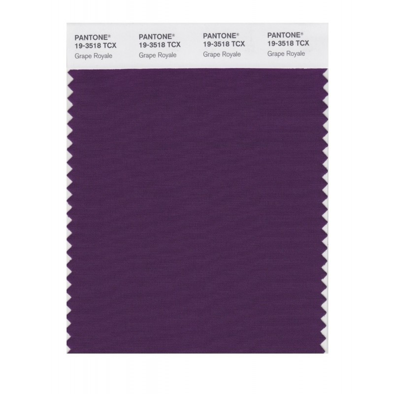 Pantone 19-3622 TCX Swatch Card Loganberry