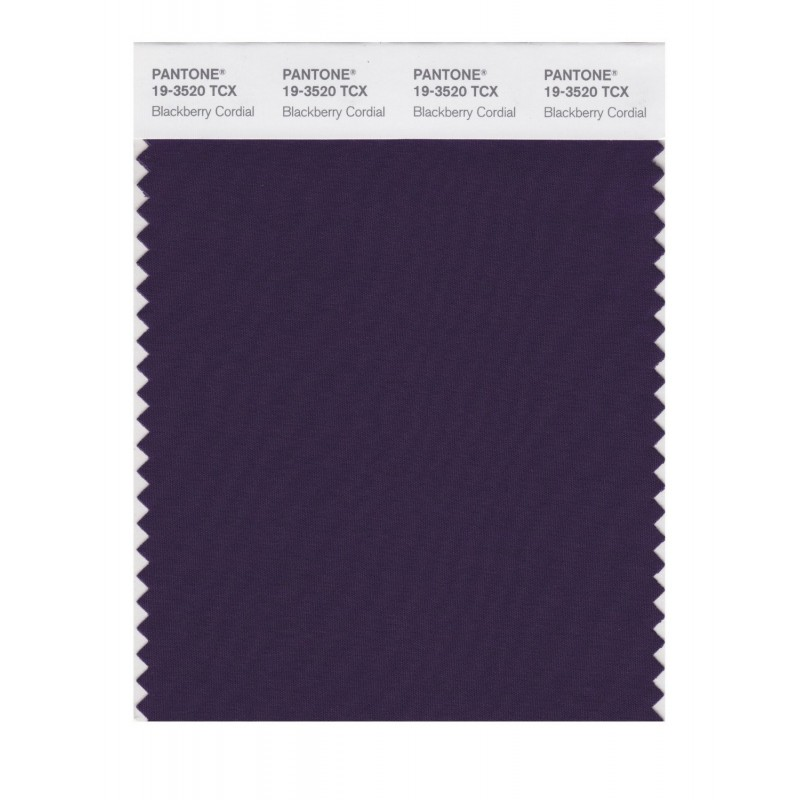 Pantone 19-3520TCX Swatch Card Loganberry