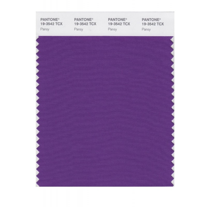 Pantone 19-3542 TCX Swatch Card Loganberry