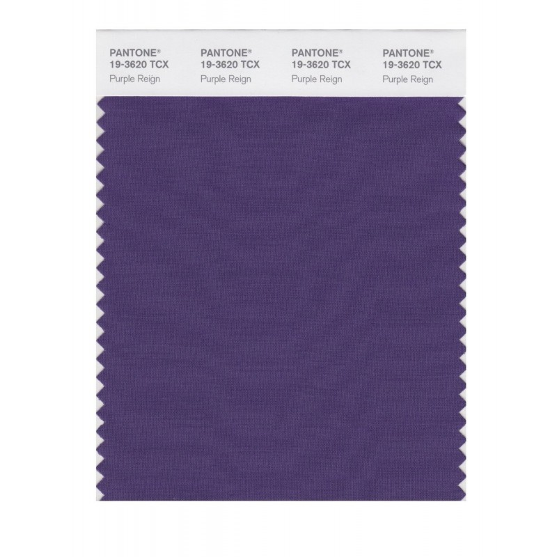 Pantone 19-3619 TCX Swatch Card Loganberry