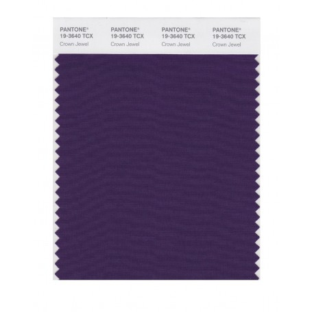 Pantone 19-3640 TCX Swatch Card Loganberry