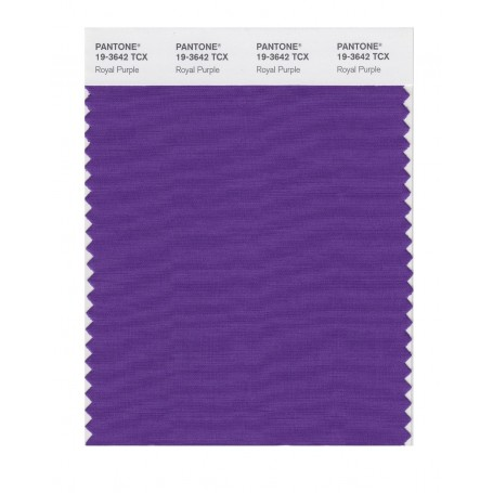 Pantone 19-3642 TCX Swatch Card Loganberry