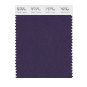 Pantone 19-3716 TCX Swatch Card Purple Plumeria