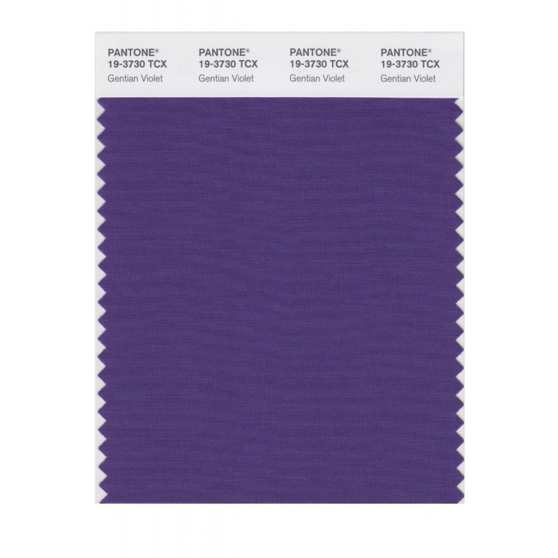 Pantone 19-3730 TCX Swatch Card Loganberry