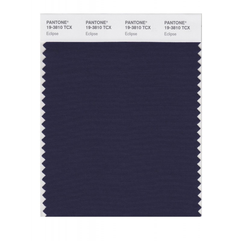 Pantone 19-3810 TCX Swatch Card Loganberry