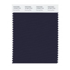 Pantone 19-3815 TCX Swatch Card Evening Blue