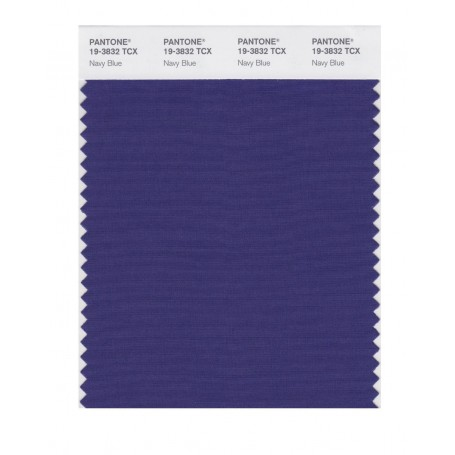 Pantone 19-3832 TCX Swatch Card Navy Blue