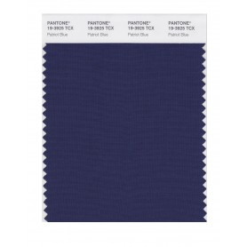 Pantone 19-3925 TCX Swatch Card Patriot Blue