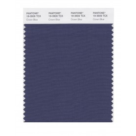 Pantone 19-3926 TCX Swatch Card Crown Blue