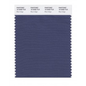 Pantone 19-3928 TCX Swatch Card Blue Indigo