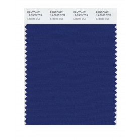 Pantone 19-3953 TCX Swatch Card Sodalite Blue