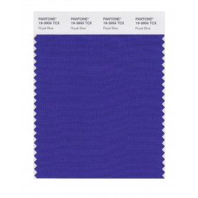 Pantone 19-3955 TCX Swatch Card Royal Blue