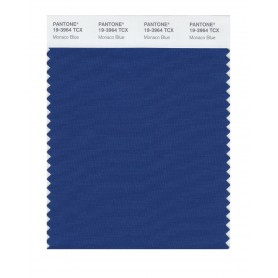 Pantone 19-3964 TCX Swatch Card Monaco Blue