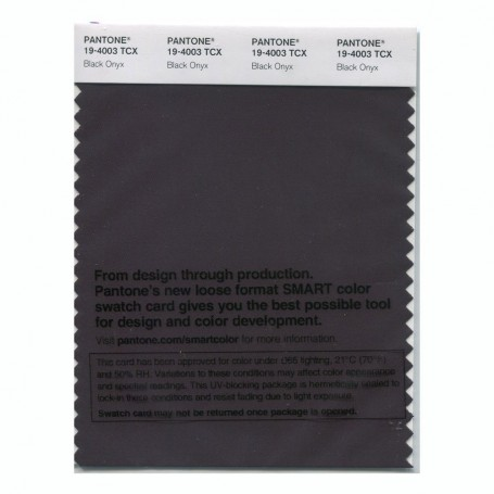 Pantone 19-4003 TCX Swatch Card Loganberry