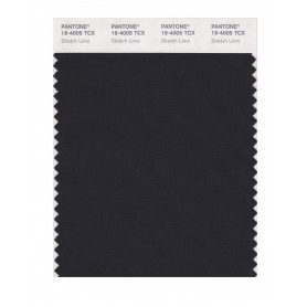Pantone 19-4005 TCX Swatch Card Stretch Limo