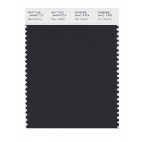 Pantone 19-4015 TCX Swatch Card Blue Graphite