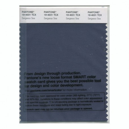 Pantone 19-4031 TCX Swatch Card Loganberry