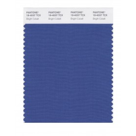 Pantone 19-4037 TCX Swatch Card Bright Cobalt