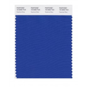 Pantone 19-4050 TCX Swatch Card Nautical Blue