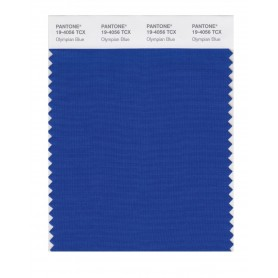 Pantone 19-4056 TCX Swatch Card Olympian Blue
