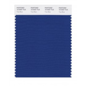 Pantone 19-4057 TCX Swatch Card True Blue