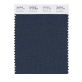 Pantone 19-4110 TCX Swatch Card Midnight Navy